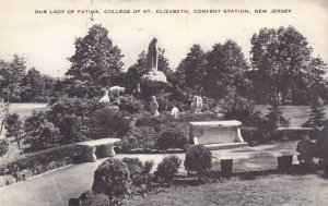New Jersey Elizabeth Our Lady Of Fatima College Of Saint Elizabeth Convent St...