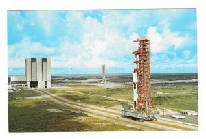 FL John F Kennedy Space Center NASA Apollo 4 Postcard