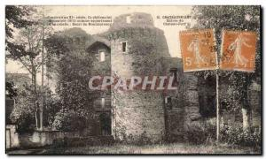 Chateaubriant Old Postcard Chateau Entree