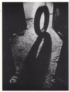 Michelin Tyre 1920s Shadow Silhouette Automobile News Photo Postcard