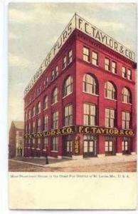 F.C. Taylor & Co,Sellers Of Furs,St.Louis,MO,pre-1907