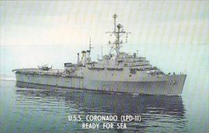 U S S CORONADO LPD-11