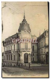Old Postcard Bank Caisse d & # 39Epargne Angouleme