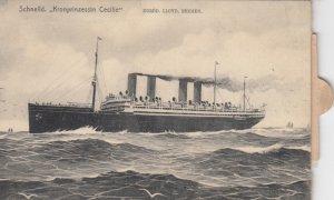 NORDD. LLYOD, BREMEN Ocean Liner Schnelld Kronprinzessin Cecillie , 00-10s ...