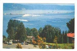Aerial,Gold Cup Races,Lake Washington,Washington,1956