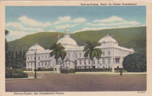 PORT AU PRINCE, Haiti, 30-40s; The Presidential Palace