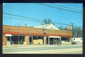 Greensboro, North Carolina/NC Postcard, The Art Shop, Picture Framing