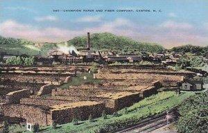 North Carolina Canton Champion Paper & Fiber Company