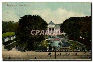 Postcard Old Wlesbaden Neues Kurhaus