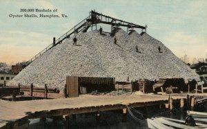 HAMPTON , Virginia , 00-10s ; Oyster Shells