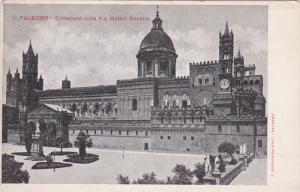 Palermo, Cattedrale colla Via Mattao Bonello, Sicilia, Italy, 10-20s