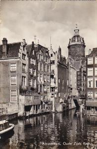Netherlands Amsterdam Oude Zijds Kolk Real Photo