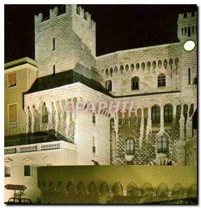 Modern Postcard Principality of Monaco Prince's Palace Illumination