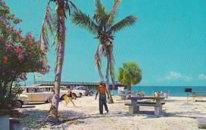 Florida Fort Myers Beach Fishing Pier 1966