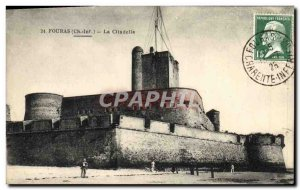 Old Postcard Fouras The Citadel
