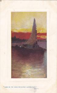 Long On The Wave Refletced Lustres Play Sunset Glow Series 1909 Tucks