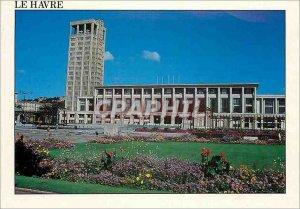 Modern Postcard Le Havre Seine Maritime Place de l'Hotel de Ville