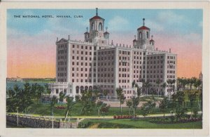 HAVANA - HABANA / HOTEL NATIONAL 1940s era view / STILL THERE