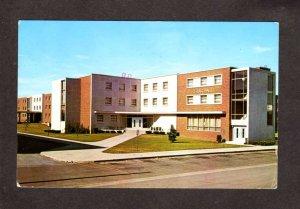 MI Trout Hall Dorm Central Michigan University Mt Pleasant Postcard