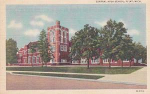 Michigan Flint Central High School Curteich