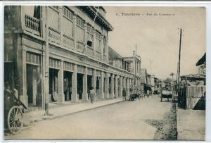 Rue Du Commerce Tamatave Toamasina Madagascar postcard