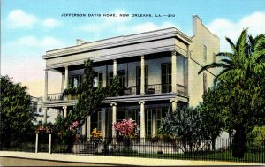 Louisiana New Orleans Jefferson Davis Home