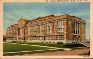Ohio Toledo Central Catholic High School Curteich