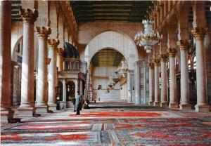 B52720 Syria Damascus Interior Mosque of Omayad