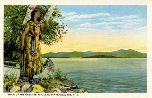 NH - Lake Winnipesaukee. Smile of the Great Spirit