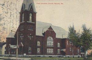 NEVADA , Missouri, 1910s ; First Christian Church