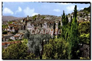 Postcard Modern Grasse General view