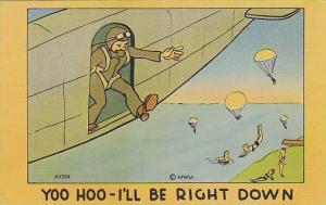 Parachuttes, Yoo Hoo- I'LL Be Right Down, Ladies Bathing, 1930-1940s