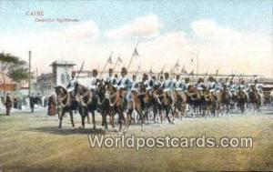 Caire Eqypt Cavaleries Egyptiennes  Cavaleries Egyptiennes