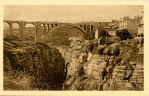 Algeria - Constantine. Sidi-Rached Bridge