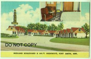Midland Boulevard, Blackburn Court, Fort Smith Ark
