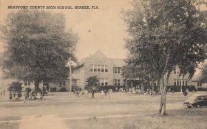 STARKE , Florida , 1941 ; High School