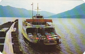 Ferry M V Anscomb At Kootenay Bay British Columbia