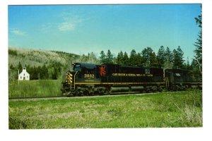 Cape Breton & Central Nova Scotia Railway, Lord Byron Train, Glen, N.S  1964.