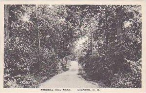 New Hampshire Milford Federal Hill Road Albertype