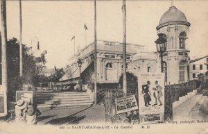 SAINT-JEAN-de-LUZ, France, 1900-10s; Le Casino