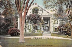 Oak Knoll, Home of Poet Whittier Danvers MA 1908