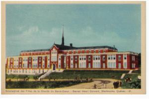 SHERBROOKE, Quebec, Canada, 1900-1910's; Sacred Heart Convent