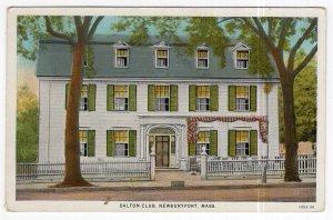 Newburyport, Mass, Dalton Club
