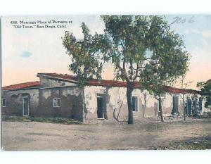 Unused Divided-Back POSTCARD FROM San Diego California CA HM6021