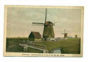 Alkmaar. Watermolens 4,5 en 6 van de zes Wiele. Netherlands, 00-10s