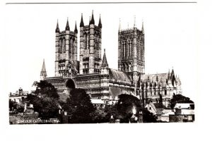 Real Photo, Lincoln Cathedral,  England
