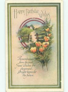 Divided-Back GREAT SCENE Greeting Postcard AA7147