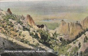 Colorado Colorado Springs From Cutler Mountain