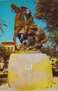 Bucky O Neil Statue In The Courthouse Square Prescott Arizona