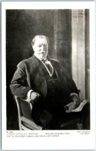 President William Howard TAFT Photo RPPC Postcard 1950s Print from Museum Photo